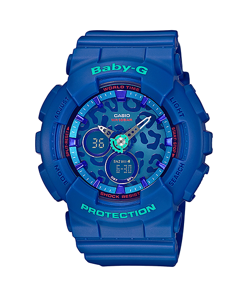 [August 2015] Baby-G green, blue, white, yellow, gold BA-120