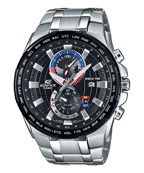 How to set time on Edifice EFR-550 / Casio 5406