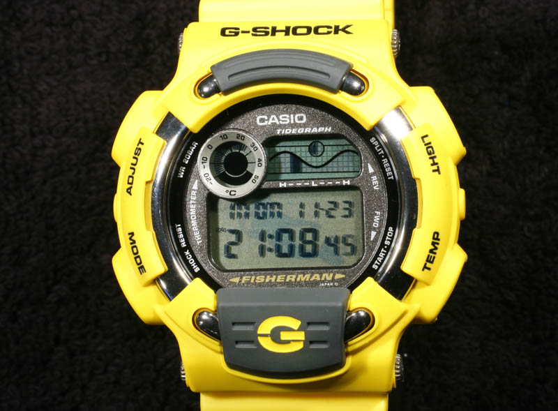 [Live Photos] G-Shock DW-8600YJ-9T Men In Yellow