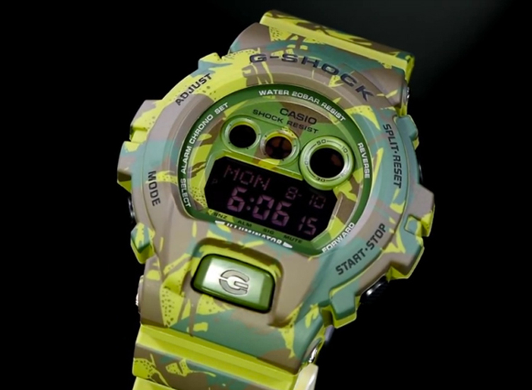 [Live Photos] G-Shock GD-X6900MC-3JR Close Look