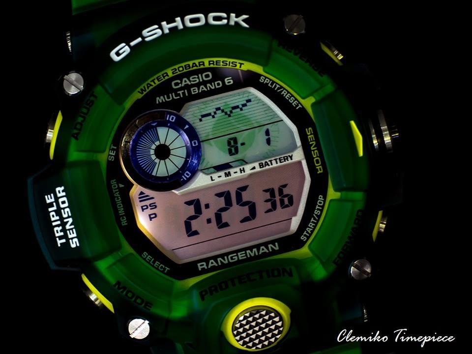 [Live Photos] G-Shock Love The Sea And The Earth 2015 Rangeman GW-9401KJ-3JR