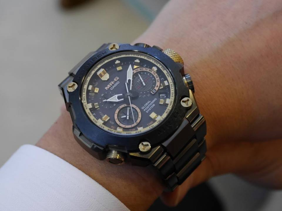 [Live Photos] G-Shock MRG-G1000R BASELWORLD 2015 SPECIAL LIMITED MODEL