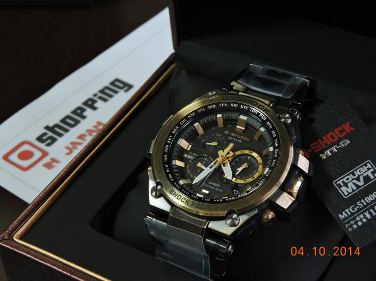 G-Shock MTG-S1000BS-1AJR Basel World Limited-6