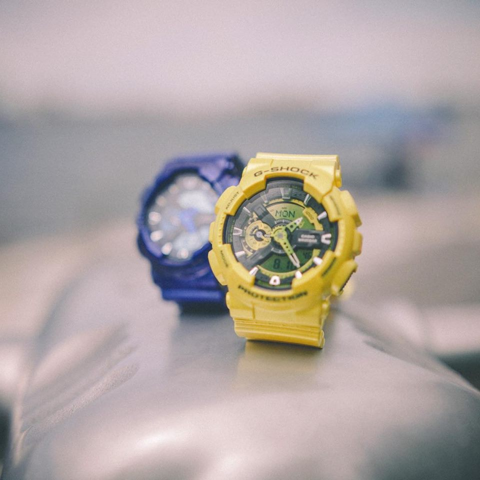 [Live Photos] G-Shock Neo-Metallic ‪GA100‬s