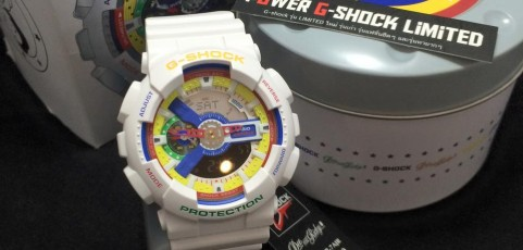 [Live Photos] G-shock x Dee & Ricky white Lego