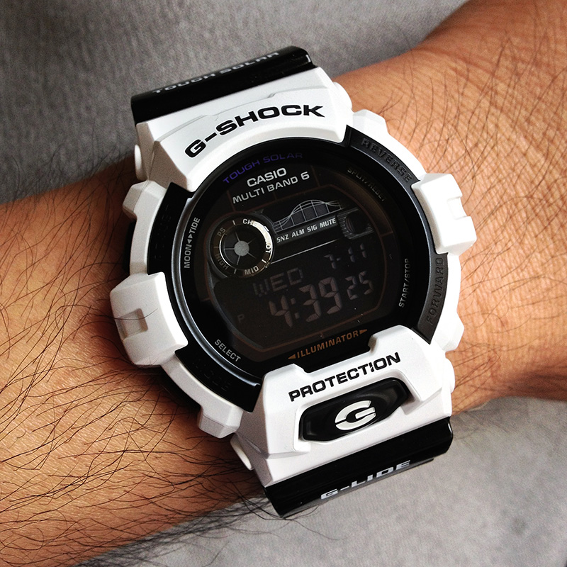 how to change daylight savings time on baby g shock