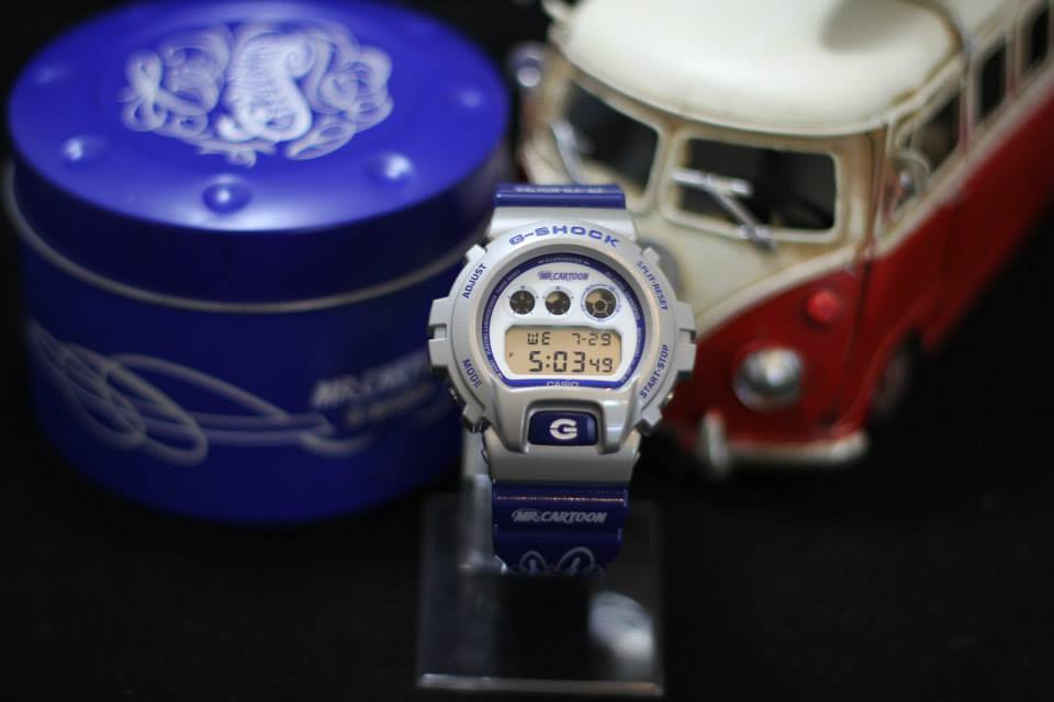 [Live Photos] G-SHOCK X DW6900MRC-8 MR. CARTOON
