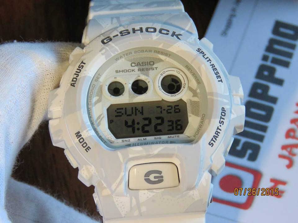 [Live Photos] G-Shock Camouflage Series GD-X6900MC-7