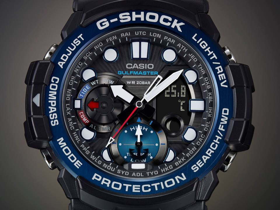 [Video] G-SHOCK GULFMASTER GN-1000 Promo