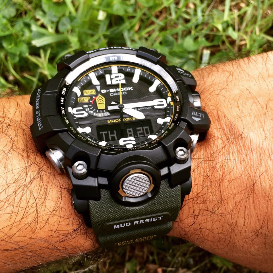 [Live Photos] G-Shock GWG1000-1A3 Mudmaster featuring