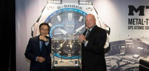 [Live Photos] G-Shock MTG-G1000 FOUR SEASONS Restaurant in NYC
