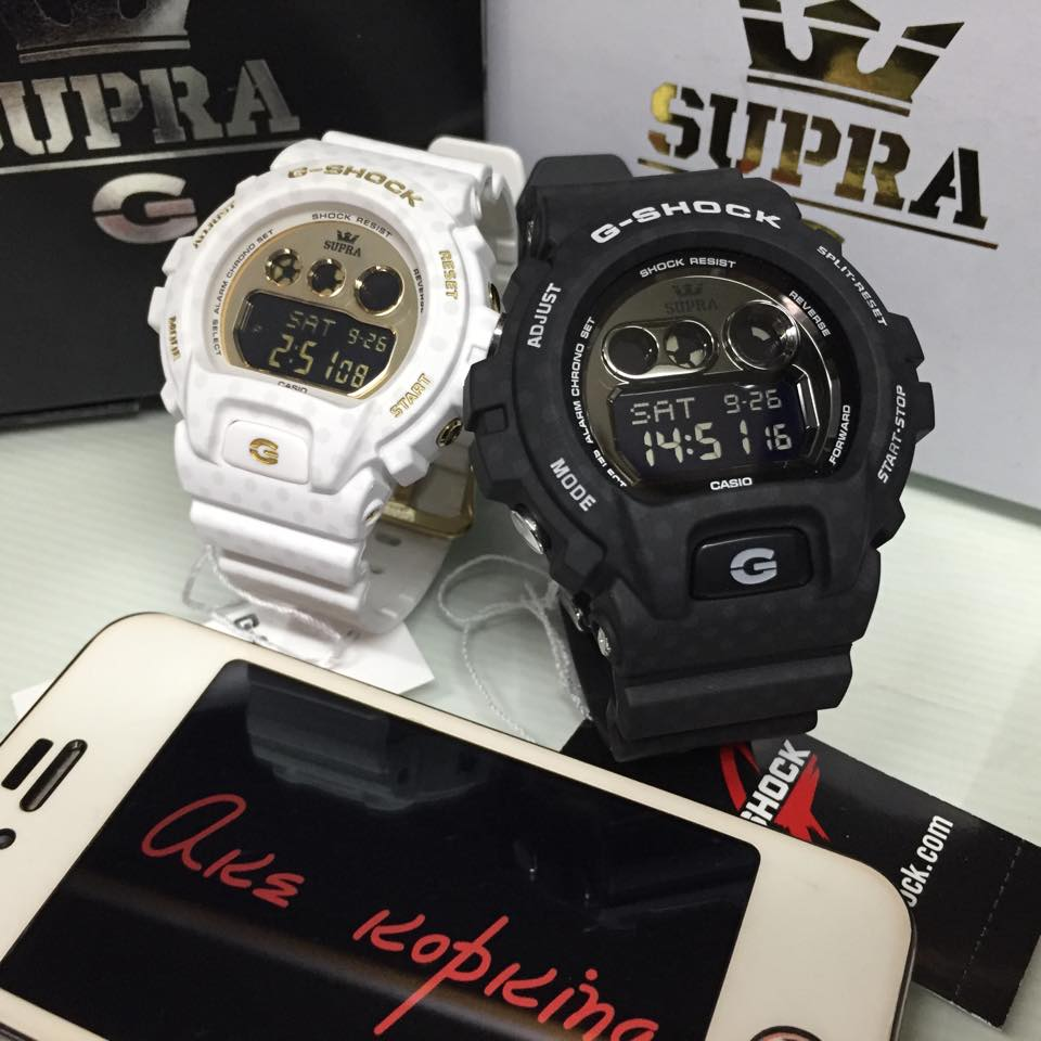 eea9c182e56 Live Photos] G-Shock x Supra Limited Black & White