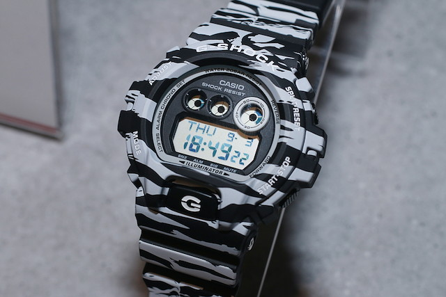 [Live Photos] G-Shock New White and Black Series