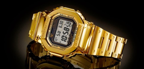 [Video] 18 Karat Gold G-Shock DW5600