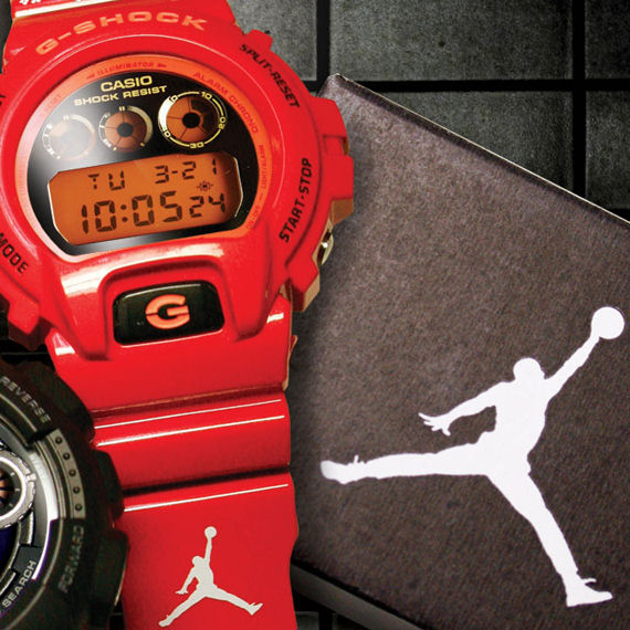 [Live Photos] G-Shock & Jordan Collaboration