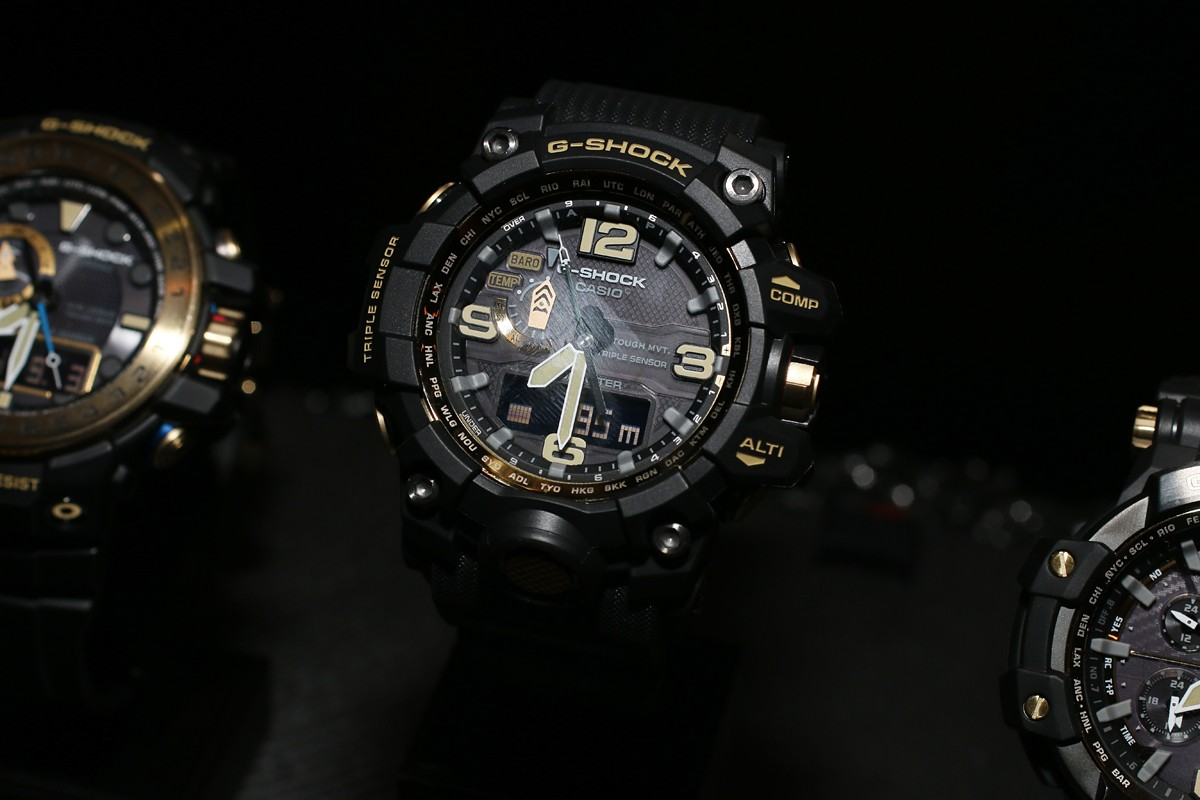 [Live Photos] G-Shock Black and Gold Master of G