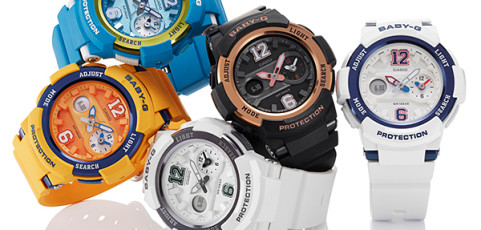 [Official] Baby-G to Release Sporty and Stylish BGA-210 with Dual World Time Display