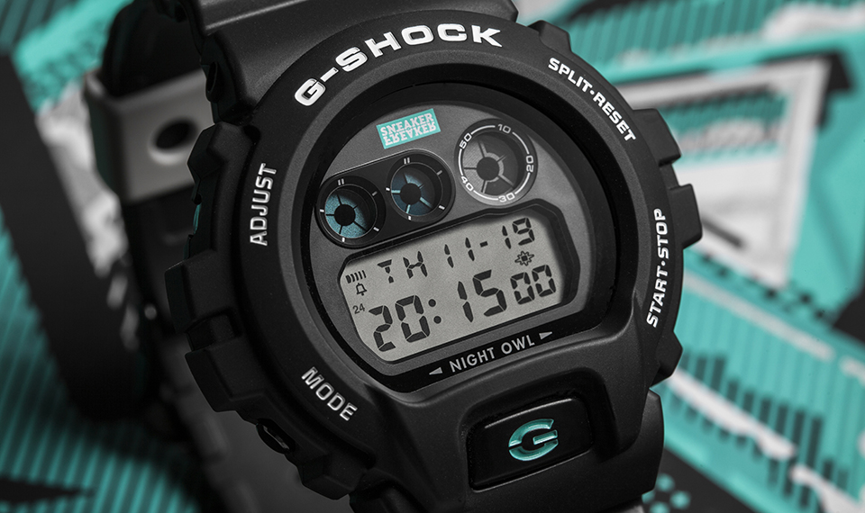 [Video] G-Shock DW-6900 x Sneaker Freaker NIGHTOWL