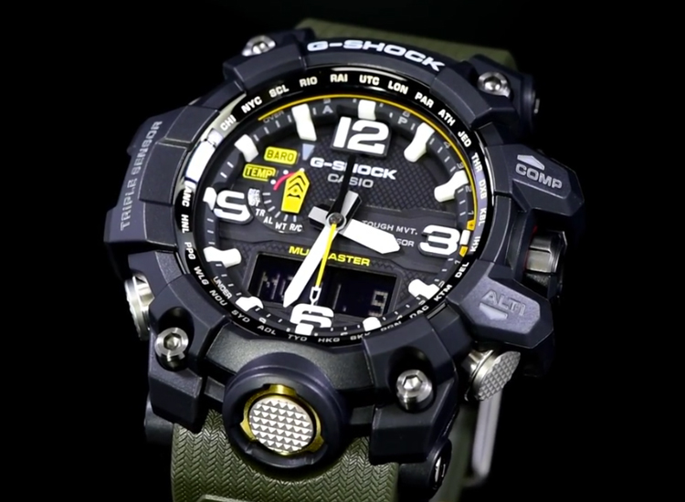 [Live Photos] G-Shock GWG-1000-1A3JF Close-Up Look