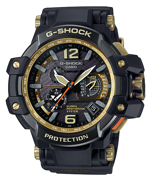 [November 2015] G-Shock Master of G Black and Gold GPW-1000GB-1A