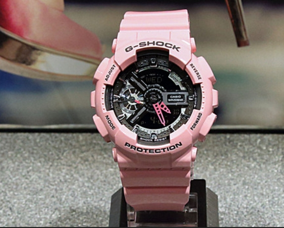 CASIO expands the line of women s watches with G-SHOCK S-Series-2 d4d46154f1