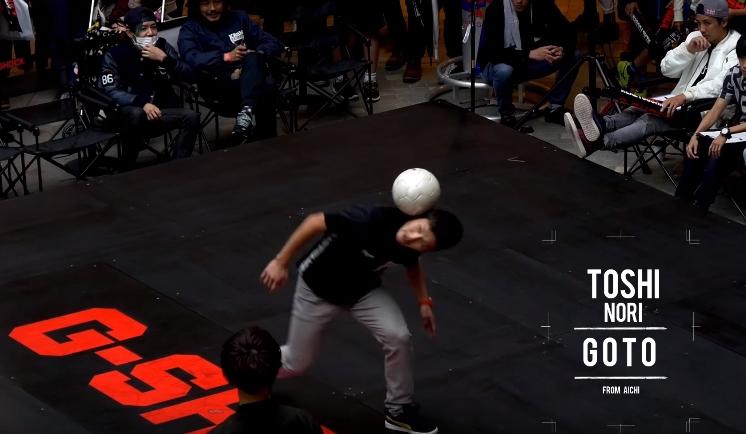 [Video] G-SHOCK EYE EYE ISUZU presents G-STYLE FOOTBALL