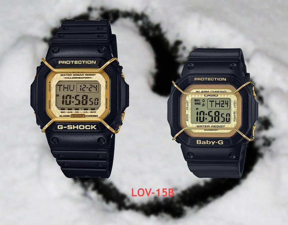 [Live Photos] G-Shock & Baby-G Lovers Collection LOV-15A & LOV-15B