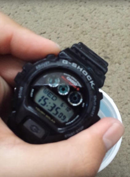 [Tests] G-Shock Crash Test / GW6900 and Water