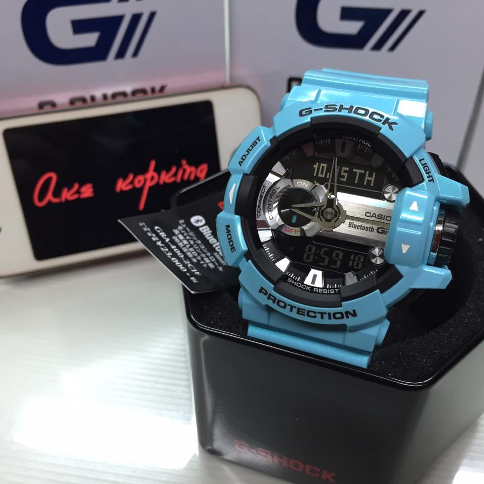 [Live Photos] G-Shock GBA-400C New Colours