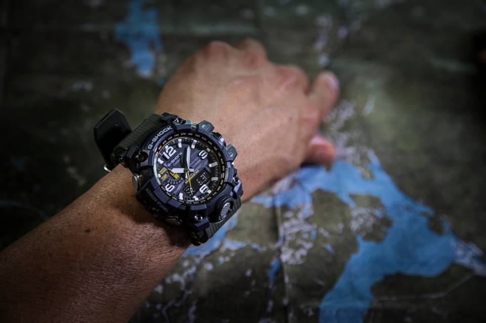 [Live Photos] G-Shock MUDMASTER GWG-1000-1A3JF
