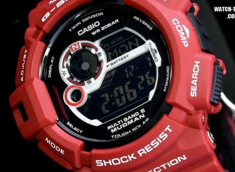 [Live Photos] G-Shock Mudman Men in Rescue Red GW-9300RD-4JF