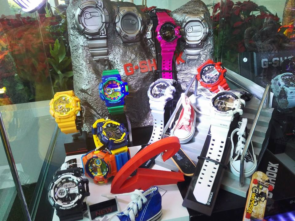 [Live Photos] G-Shock Park – Central Embassy Rossi