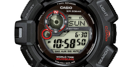 How to set time on G-Shock GW-9300 / Casio 3261