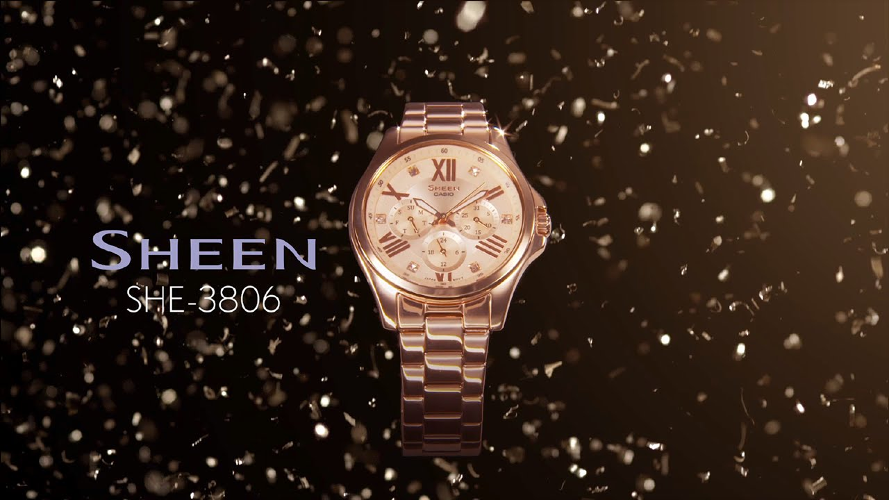 [Video] Sheen SHE-3806 Product Video