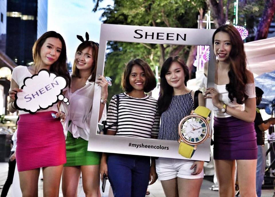 Sheen girls at ION Orchard -1