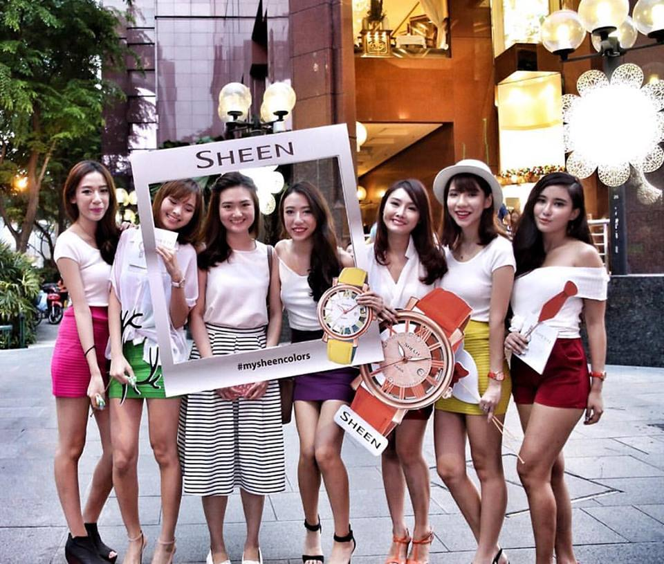 Sheen girls at ION Orchard -2