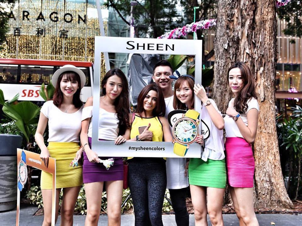 Sheen girls at ION Orchard 3