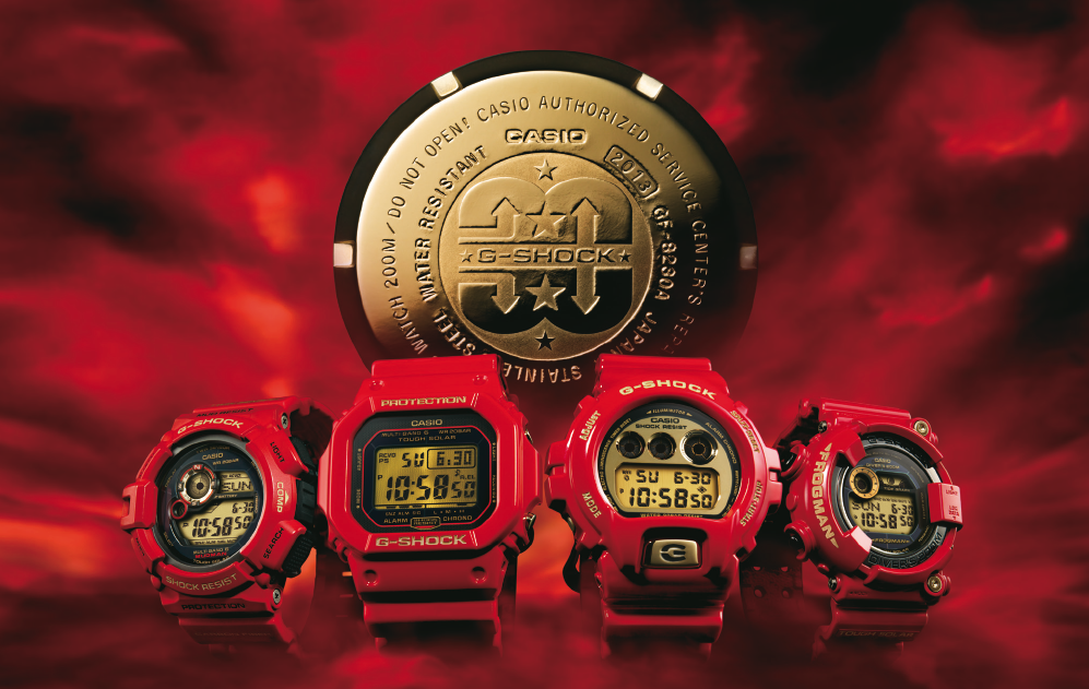 [Live Photos] The History of G-Shock