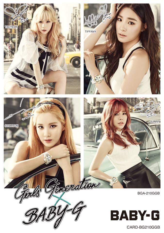 Baby-G BGA-210GGB-7B Girls' Generation-7