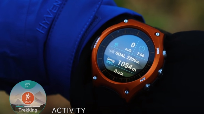 [Video] CASIO – Android Wear [Smart Outdoor Watch] WSD-F10