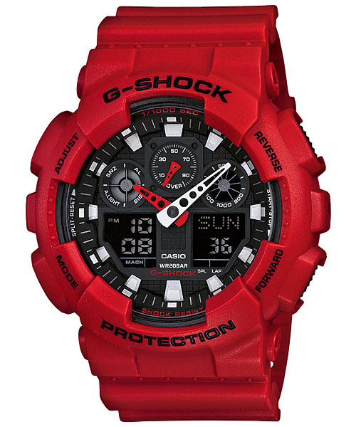GA-100 / 5081 — G-Shock Wiki Casio Information