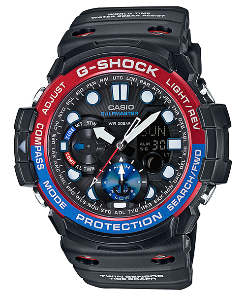 How to set alarm on G-Shock GN-1000 / Casio 5443
