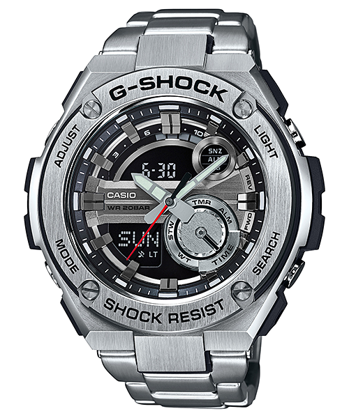 [Official] G-SHOCK EXPANDS EXCLUSIVE RANGE OF G-STEEL TIMEPIECES
