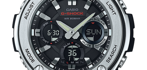 How to set alarm on G-Shock GST-S110 / Casio 5445