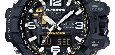 How to set alarm on G-Shock GWG-1000 / Casio 5463