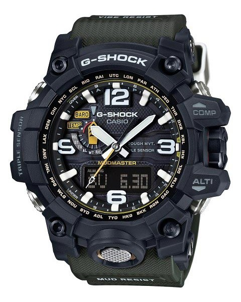 How to set time on G-Shock GWG-1000 / Casio 5463