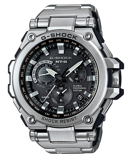 How to set alarm on G-Shock MTG-G1000 / Casio 5455