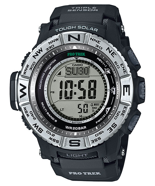 How to set time on ProTrek PRW-3500 / Casio 3414
