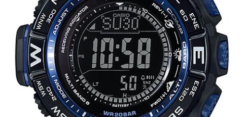 How to set alarm on ProTrek PRW-3500 / Casio 3414