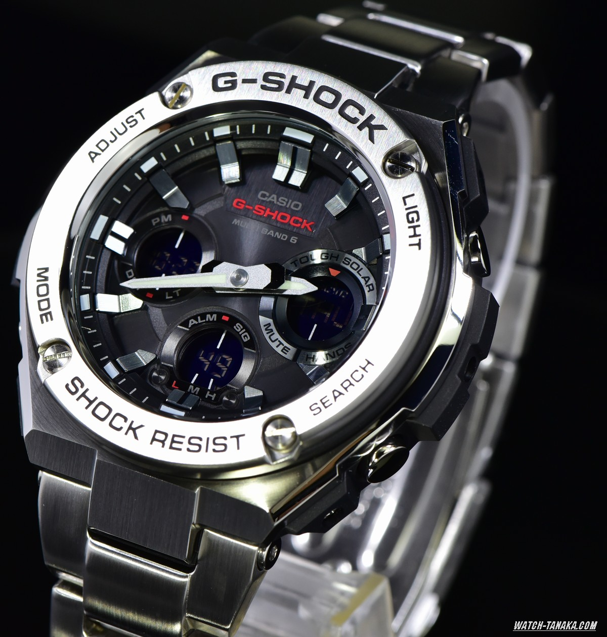 [Live Photos] G-Shock G-STEEL GST-W110D-1AJF